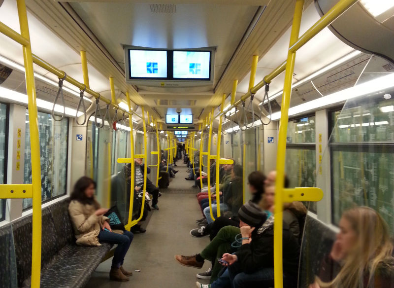Metro em Berlim. Ubahn