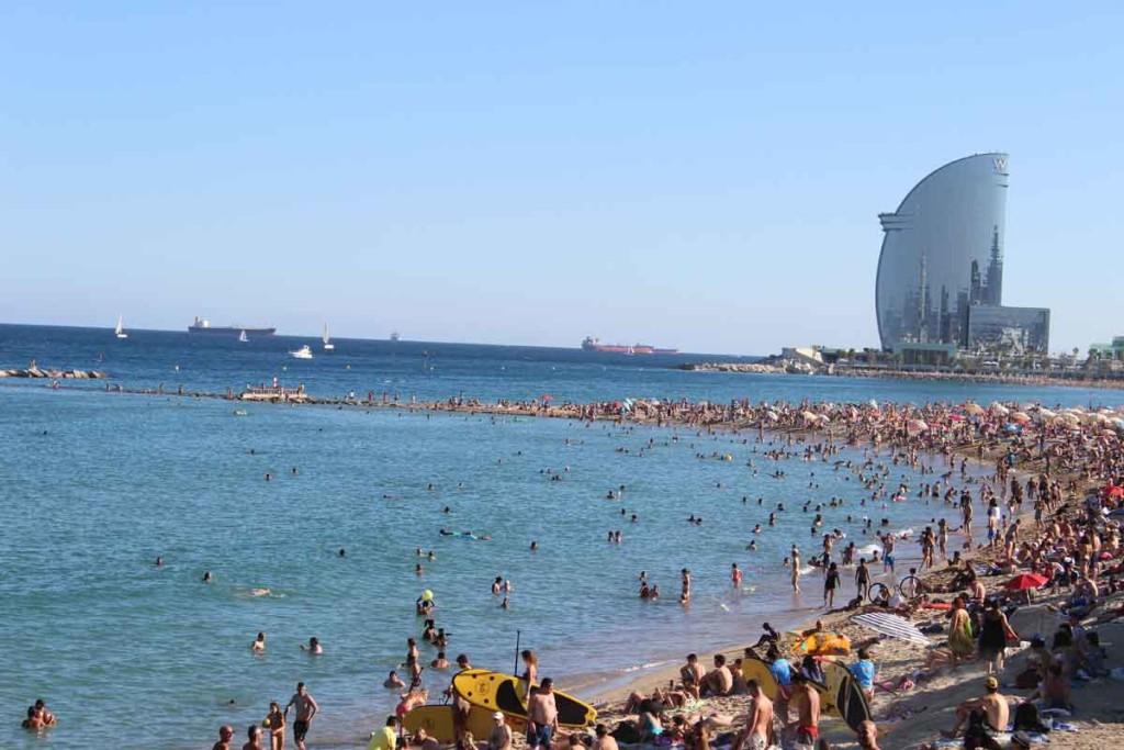 Barceloneta - Foto: Viagem 0800