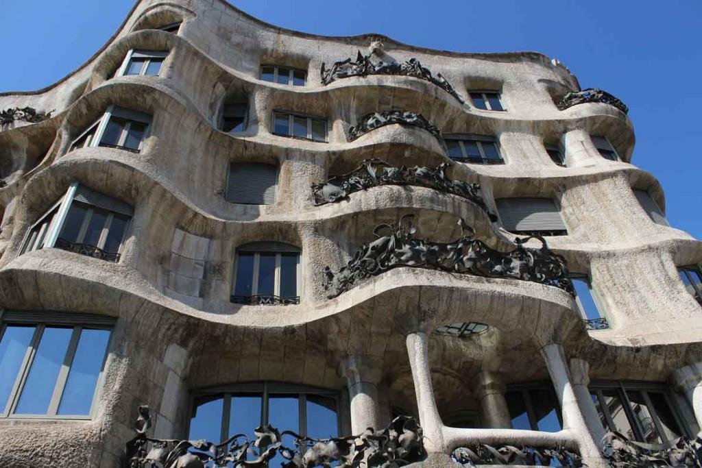 La Pedrera, obra de Gaudí - Foto: Viagem 0800