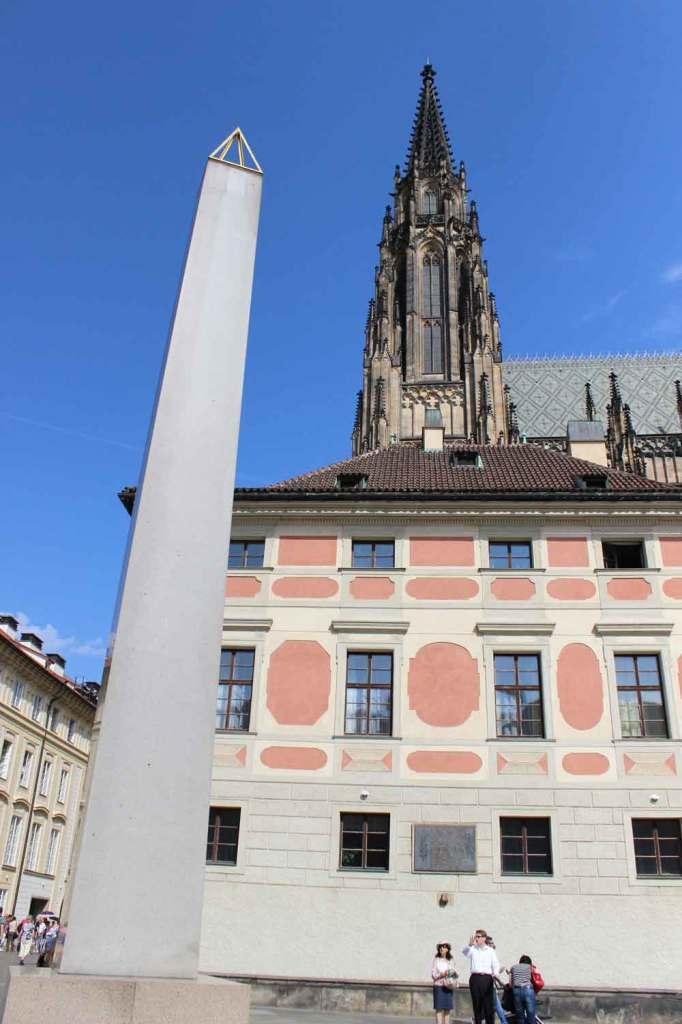 Já dentro do Castelo de Praga, o marco zero da cidade. Foto: Viagem 0800