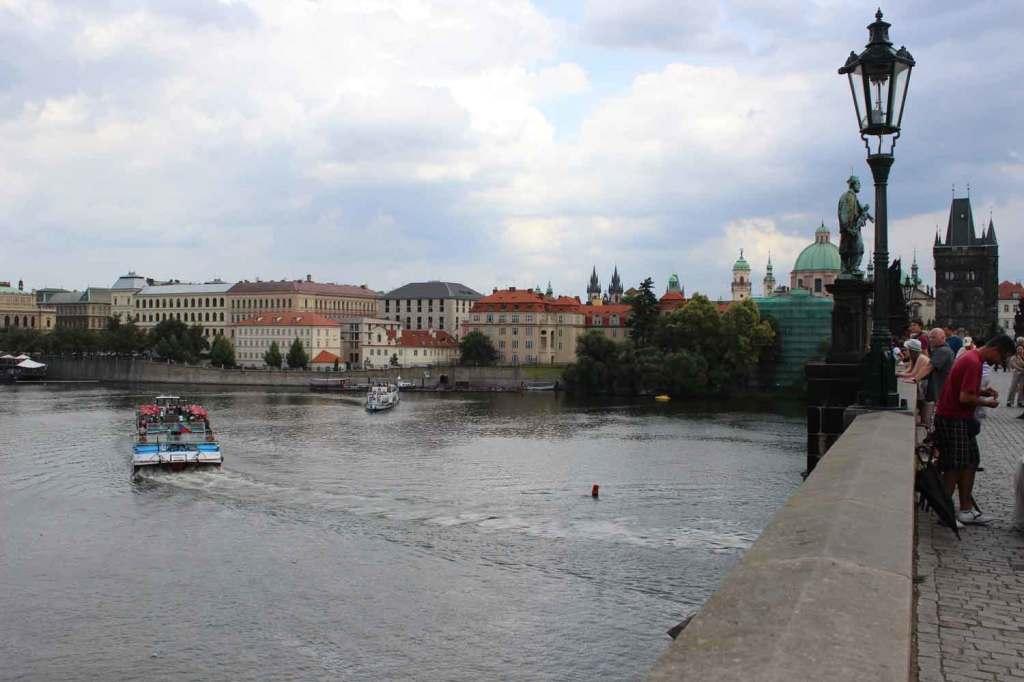 Vista da ponte Carlos. Foto: Viagem 0800
