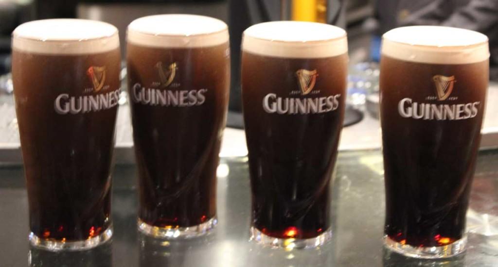 Cerveja Guinness na Guinness Storehouse