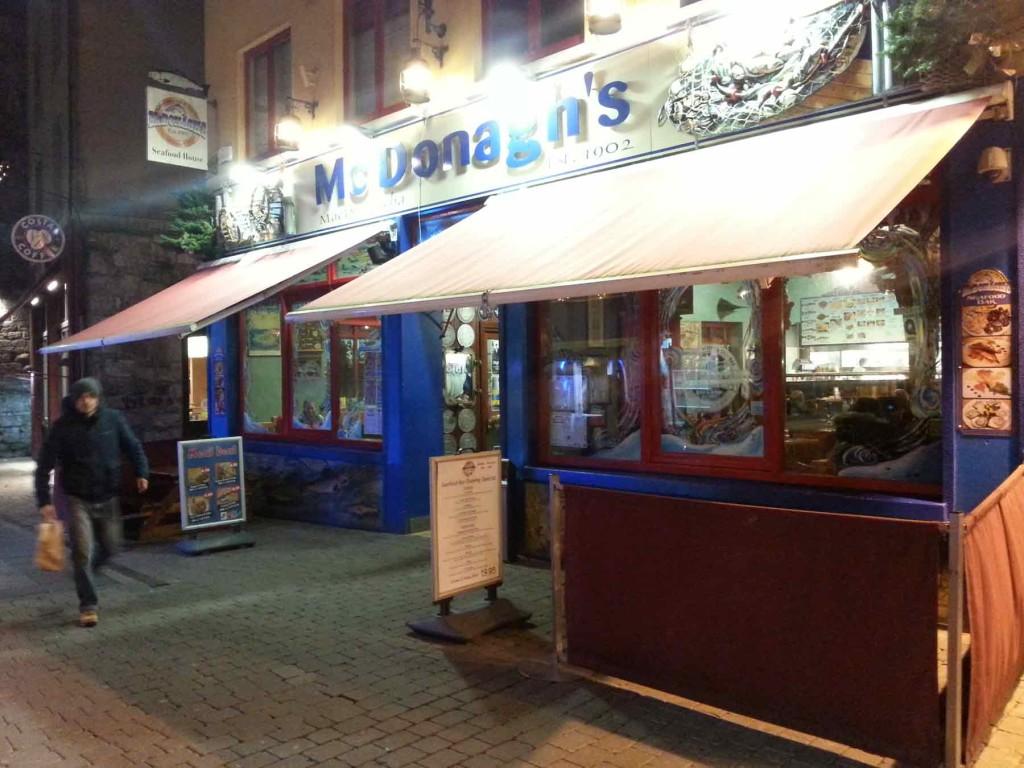 Mc Donagh's: a melhor Fish & Chips da Irlanda