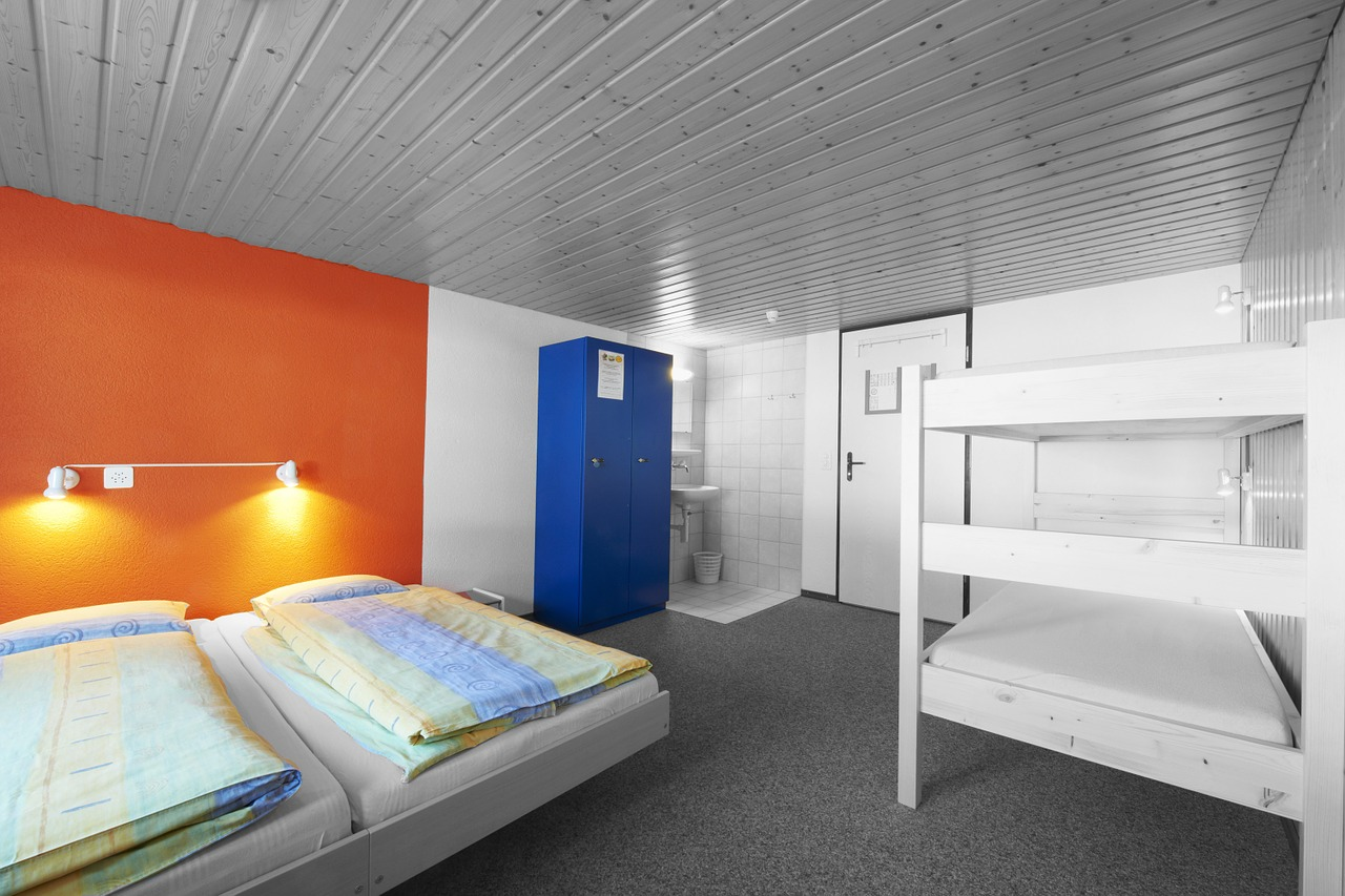 Quarto Hostel. Cama e beliches