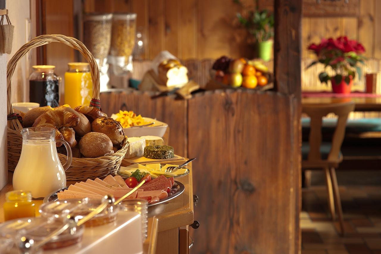 Café da Manhã no Hotel