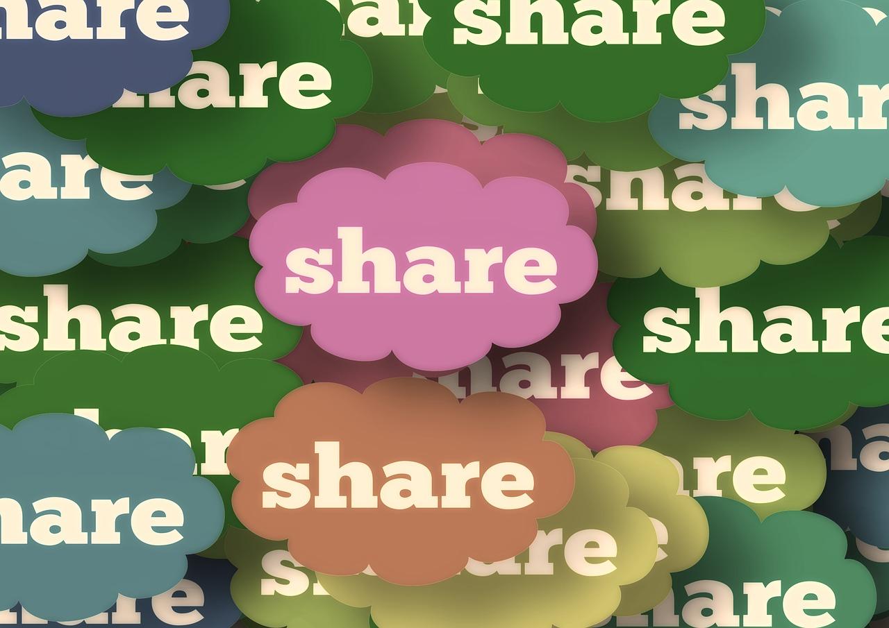 Ilustração Share Cloud
