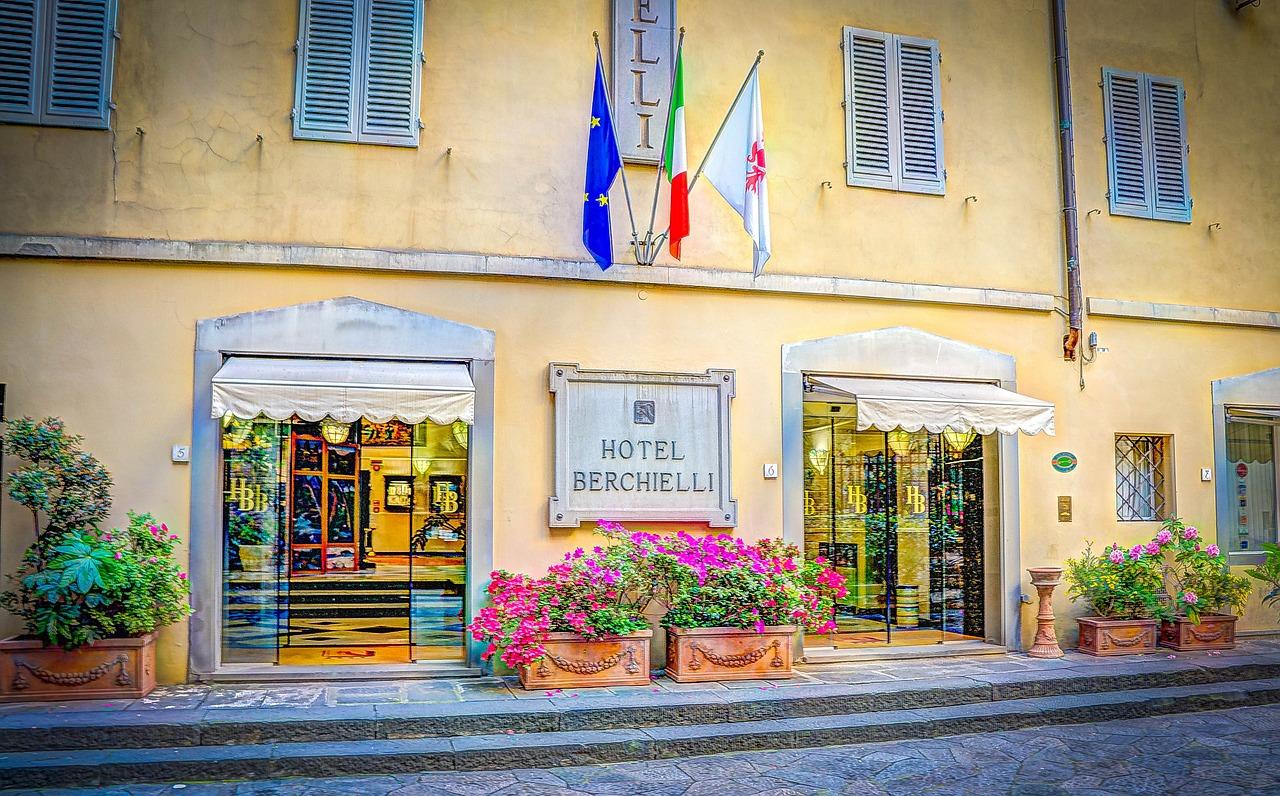 Hotel Berchielli em Florença. Itália