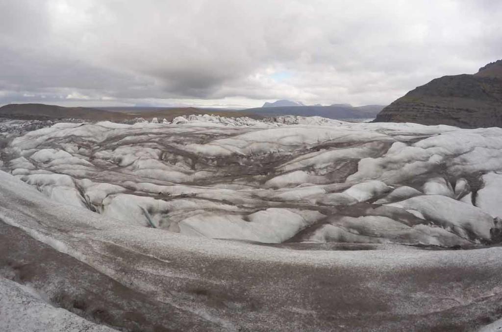Glacier Walk, ou caminhada no gelo no Vatnajökull National Park