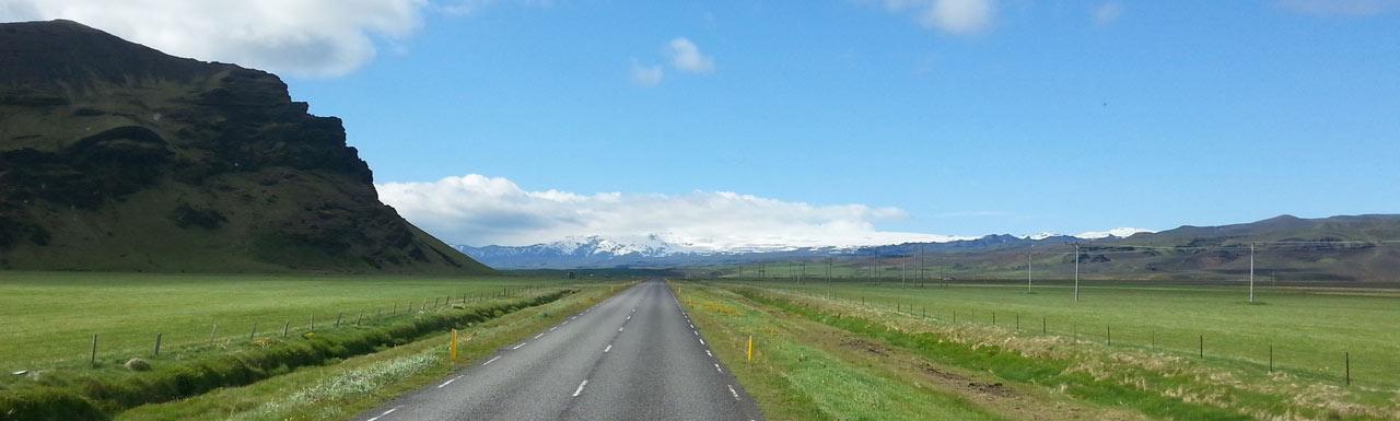Islândia estrada A1