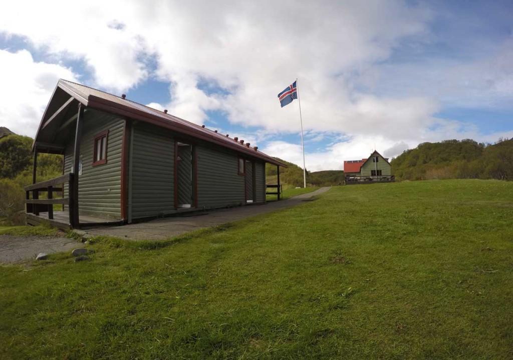 Camping em thosmork - islândia