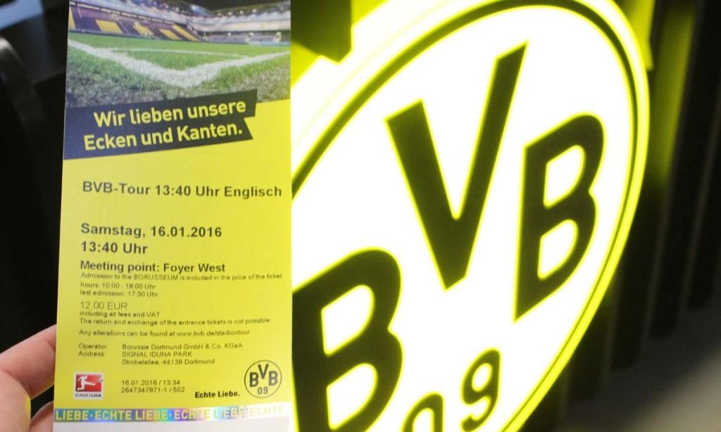 BVB tour estádio signal iduna park dortmund
