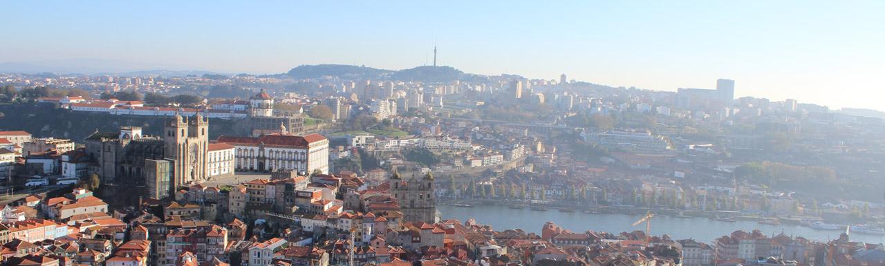 Vista aérea Porto Portugal