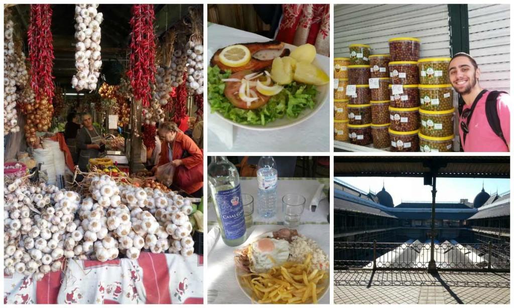 Mercado do Bolhão Porto Portugal