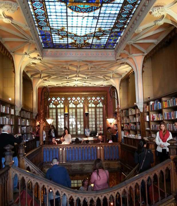 Lello - livraria Porto - inspiração para j k rowling harrz potter