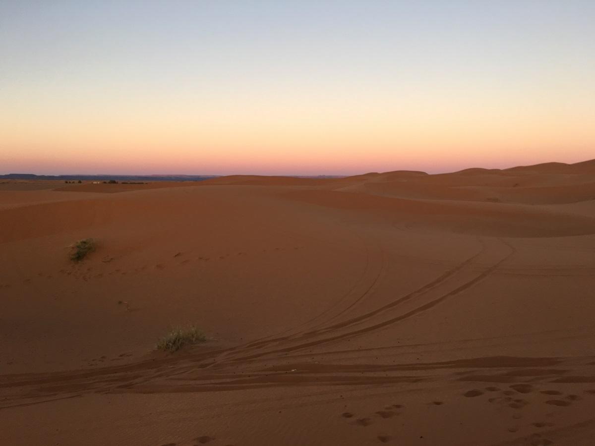 deserto amanhecer marrocos