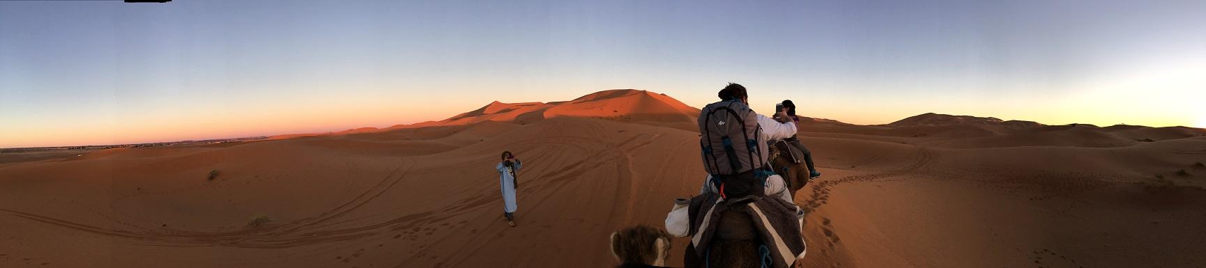 A gélida mas incrível noite no deserto do Marrocos