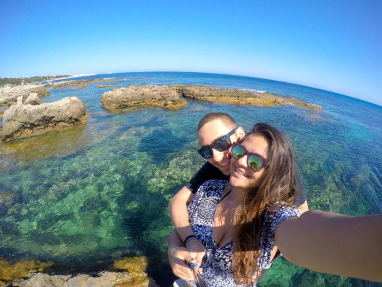 praia de Cala Ratjada em Maiorca