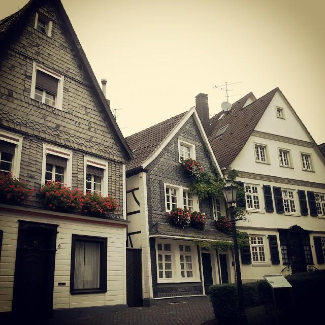 Casas antigas de Kettwig, na Alemanha