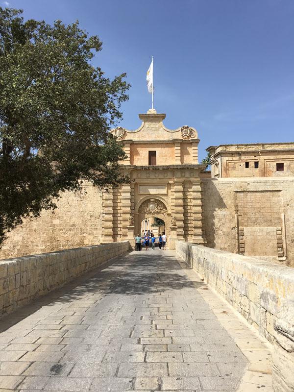 Cidade de Mdina, figurinha carimbada na primeira temporada de Game of Thrones