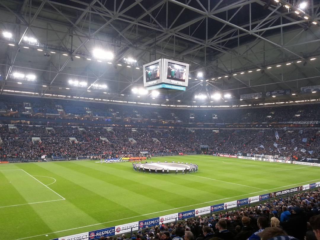estádio do schalke 04, em Gelsenkirchen