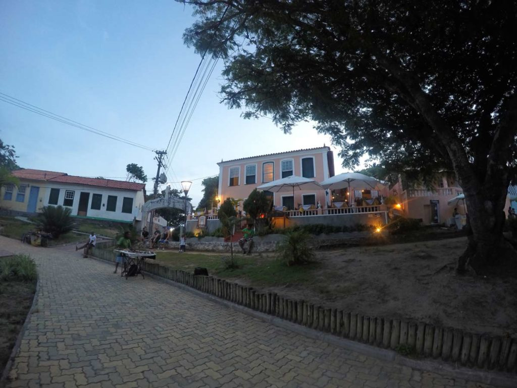 centro histórico de morro de sao paulo