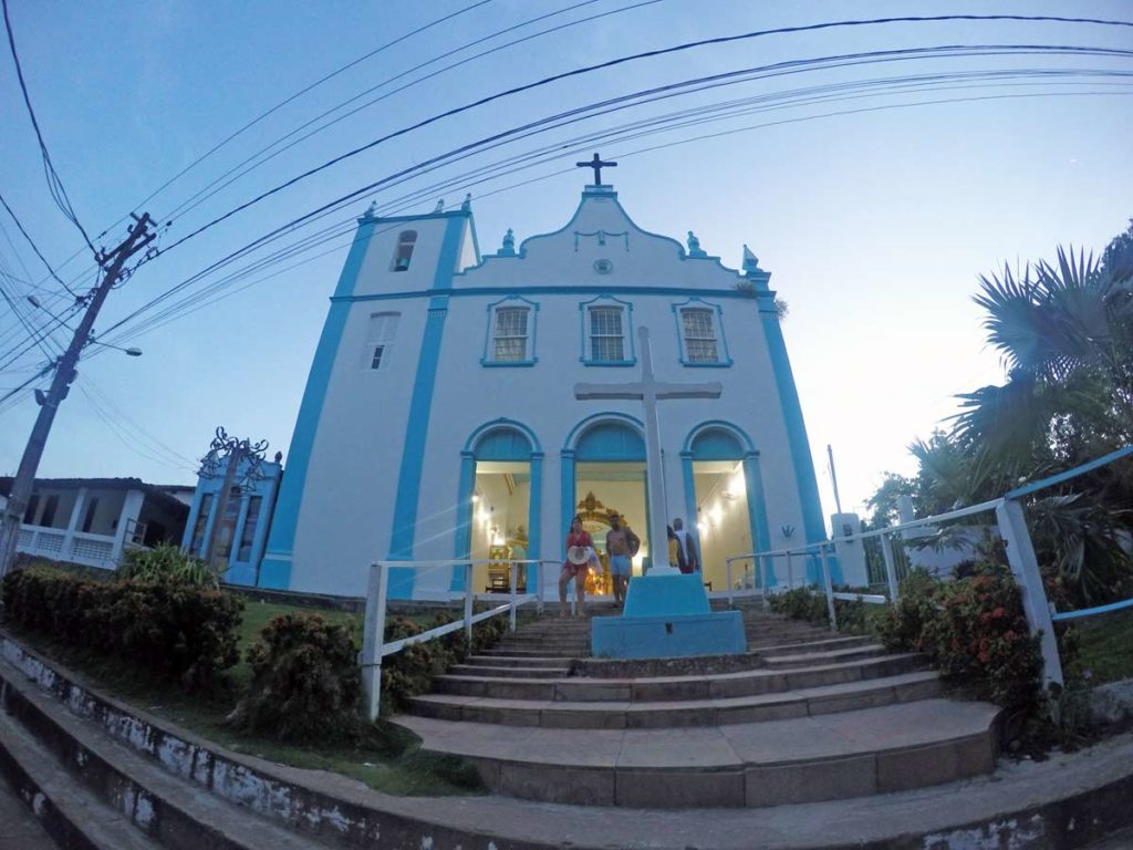 igreja centro morro de sao paulo