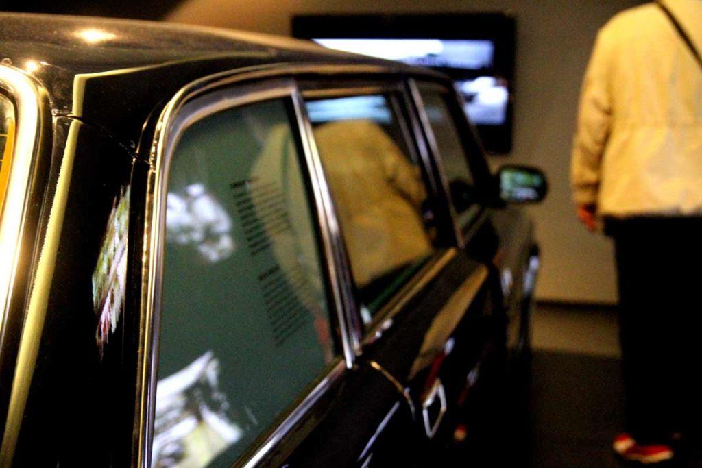 carro utilizados pelas liderancas políticas na época da Alemanha Oriental