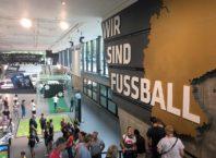 entrada do museu do futebol na alemanha