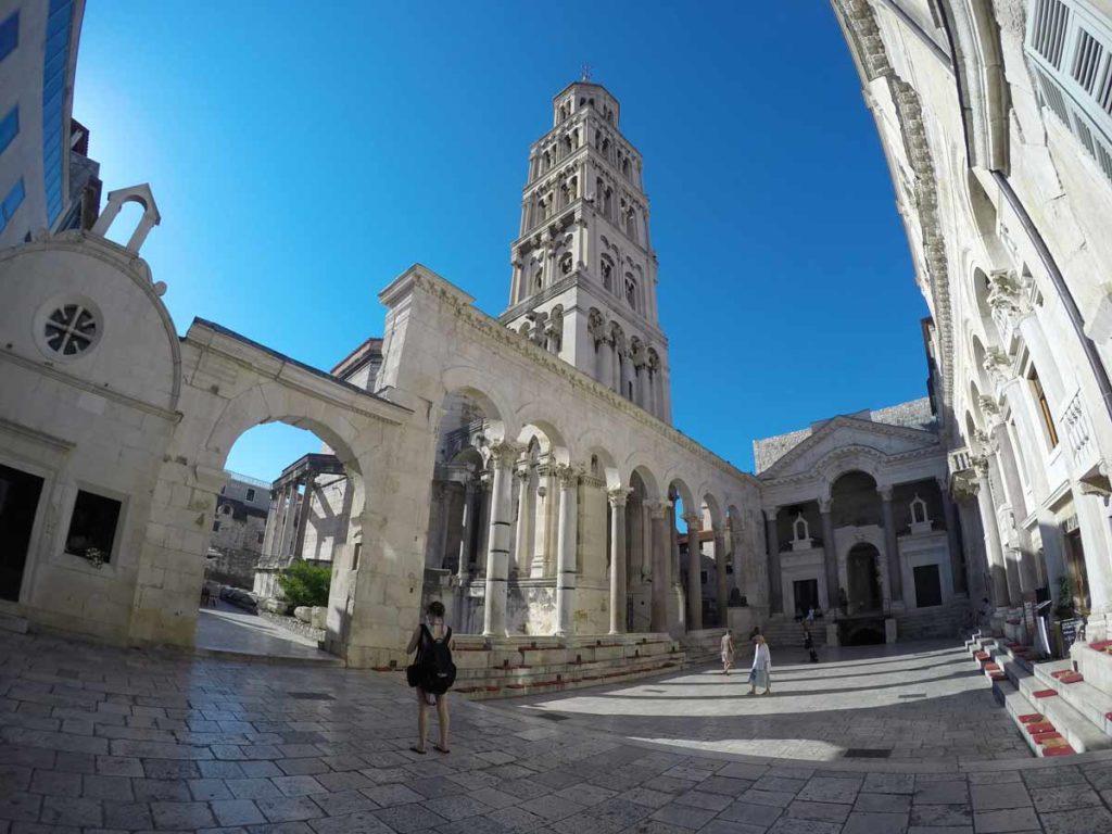 palácio dioclesiano em spli