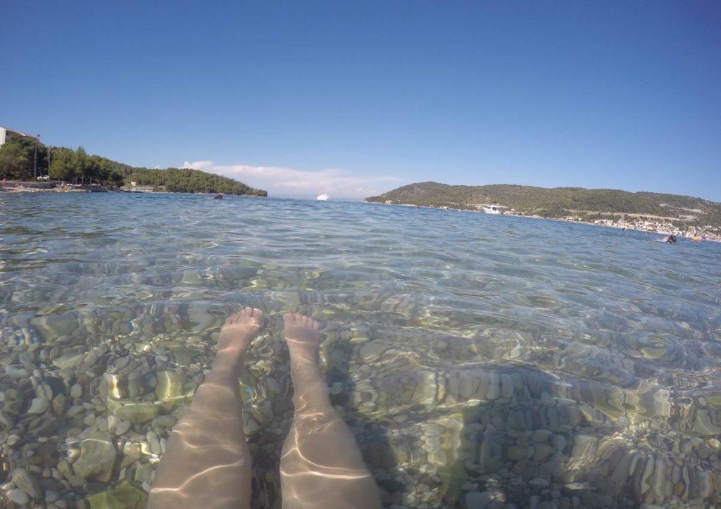vis o que fazer croacia praia agua transparente