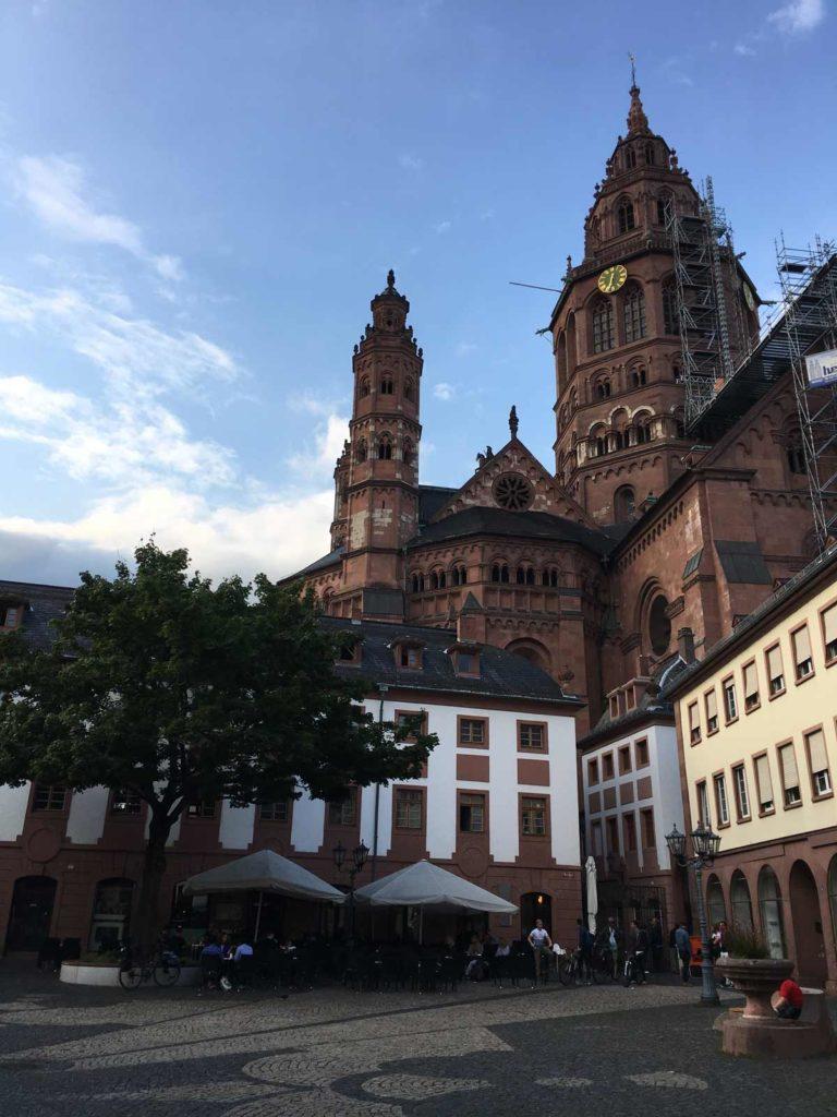 catedral de Mainz, no centro da cidade