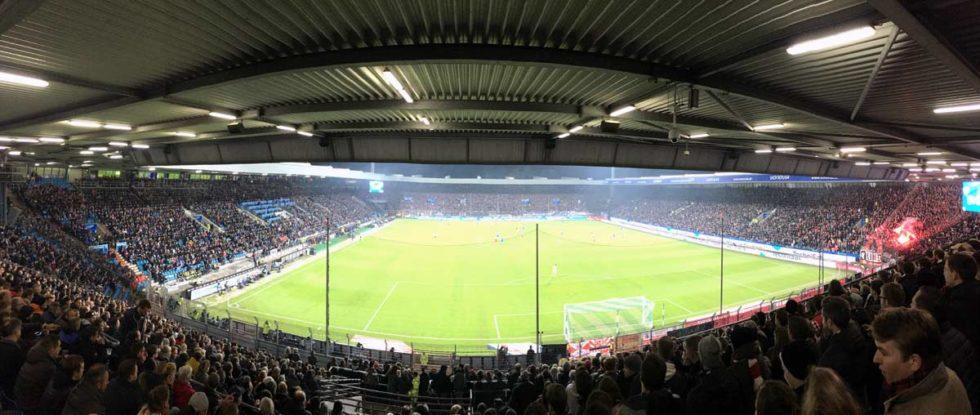 estadio futebol bochum vista panorâmica