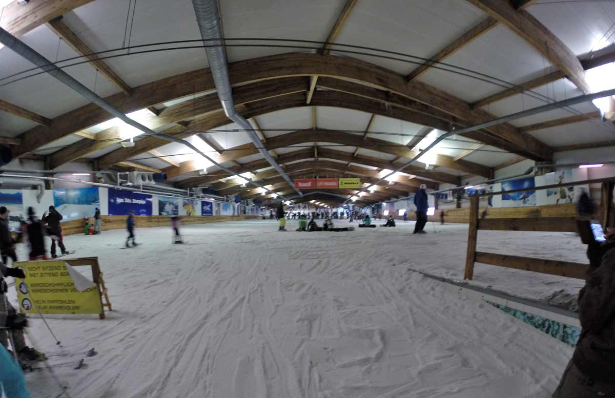 pista de esqui indoor na alemanha