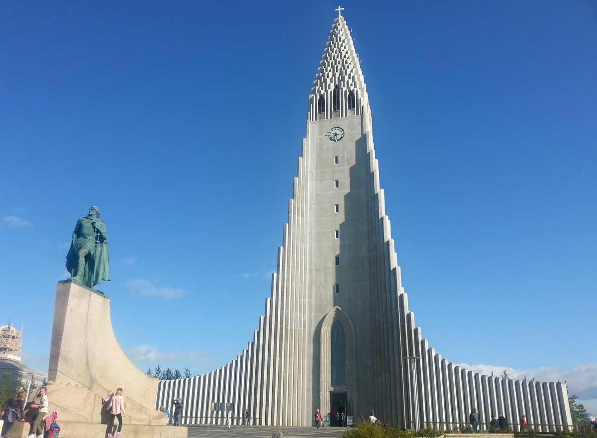 igreja hallgrímskirkja em reikjavik