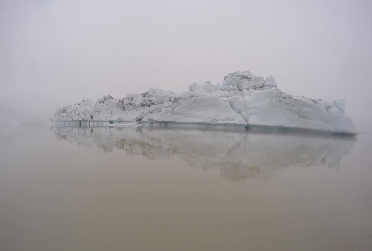 iceberg no jokursarlon, na islândia