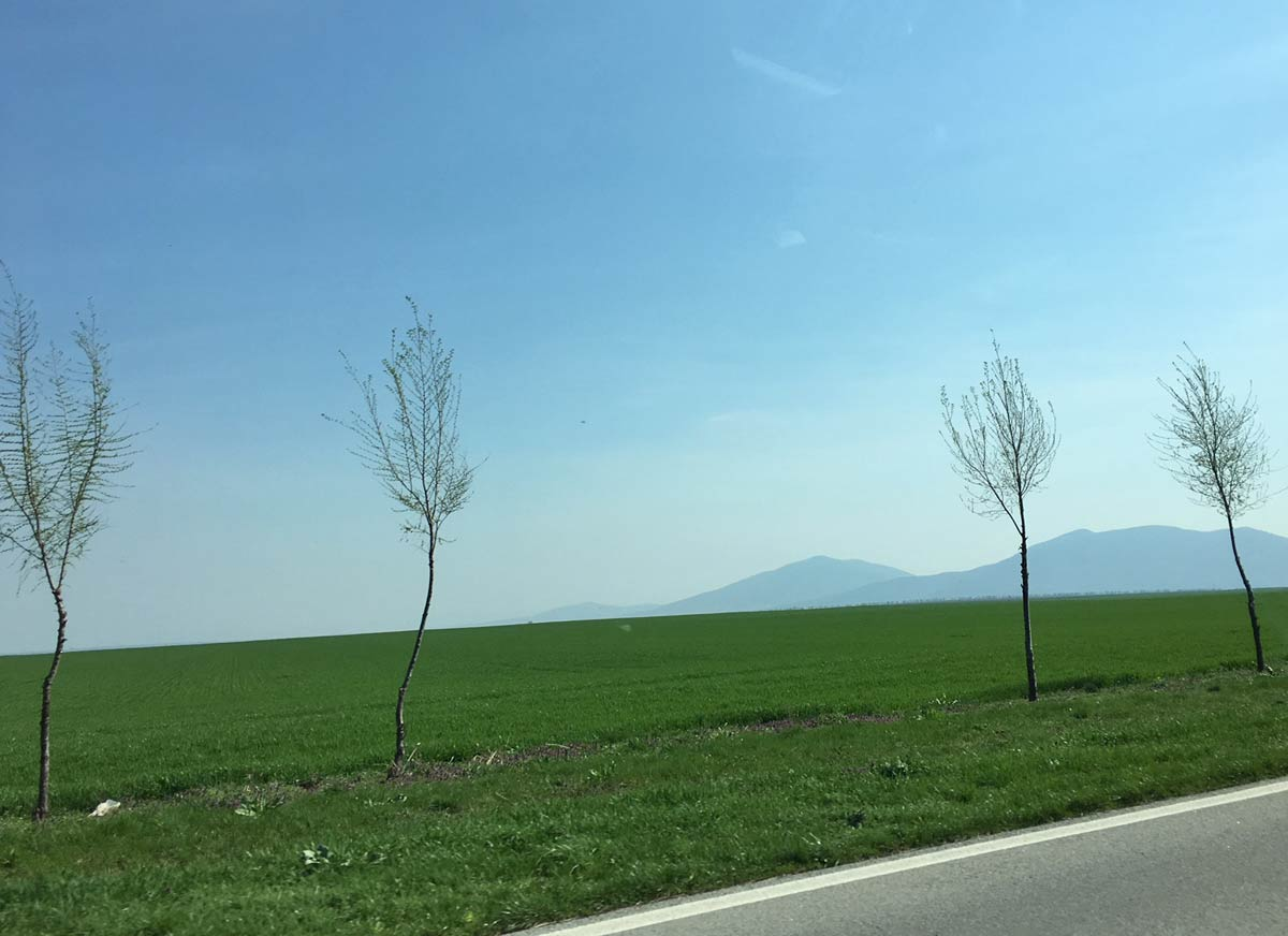 estrada na sérvia