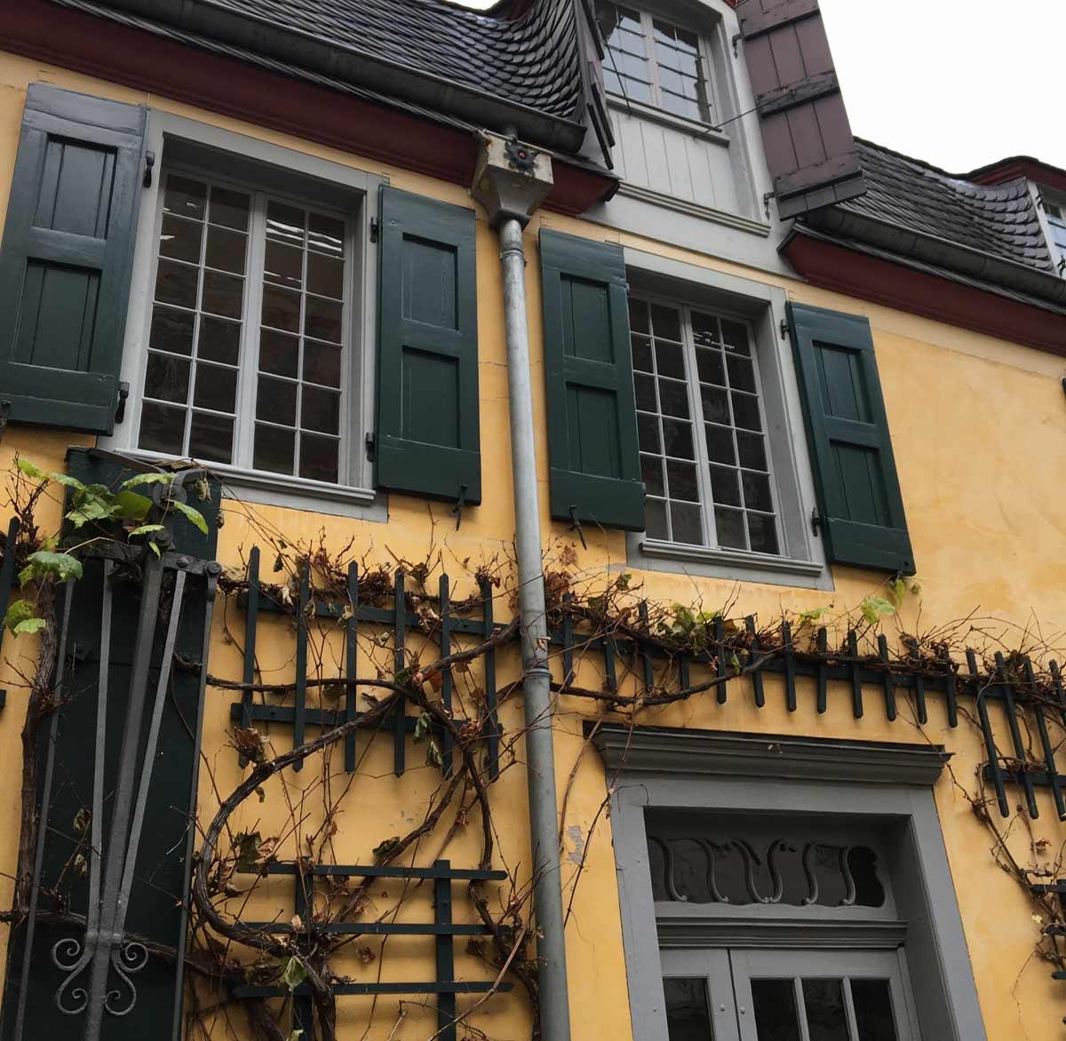 casa amarela onde morou beethoven em bonn