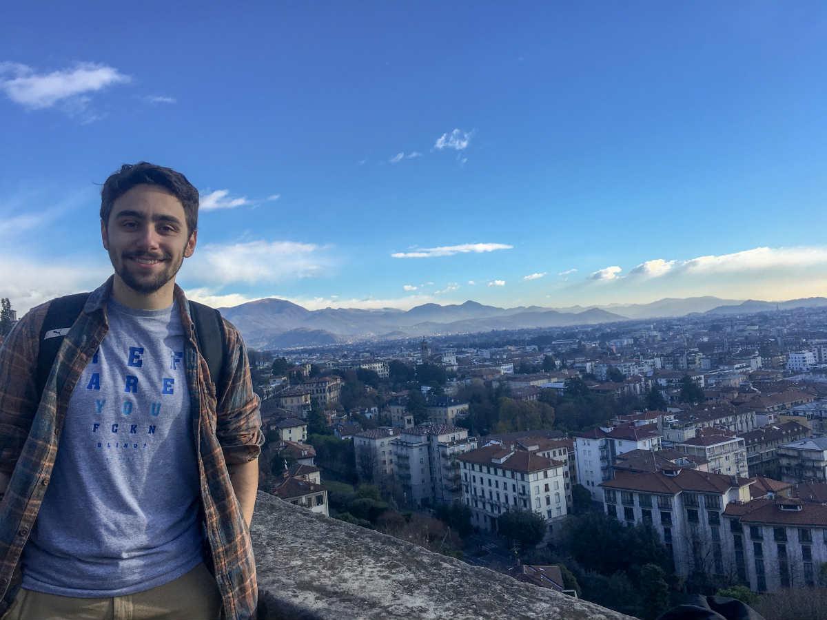 Vista Bergamo Italia