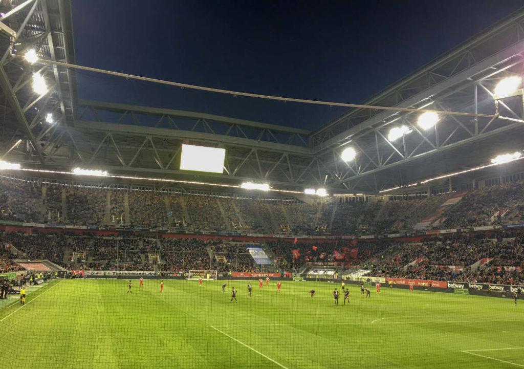 partida do jogo entre fortuna dusseldorf e Nuremberg