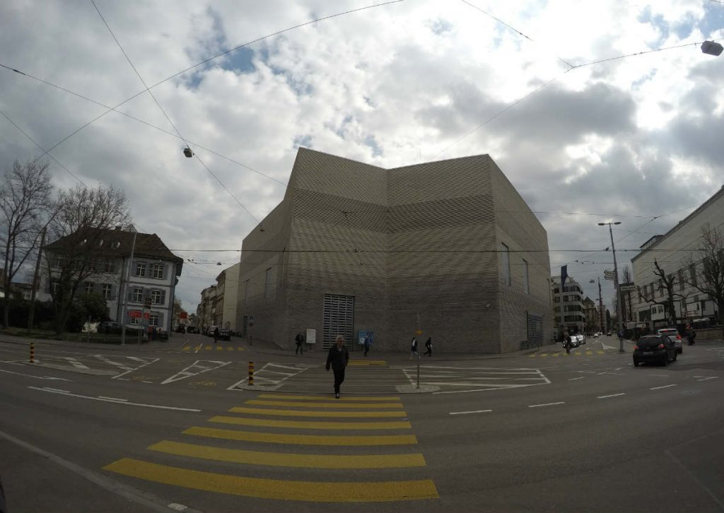 novo prédio do kunstmuseum basel