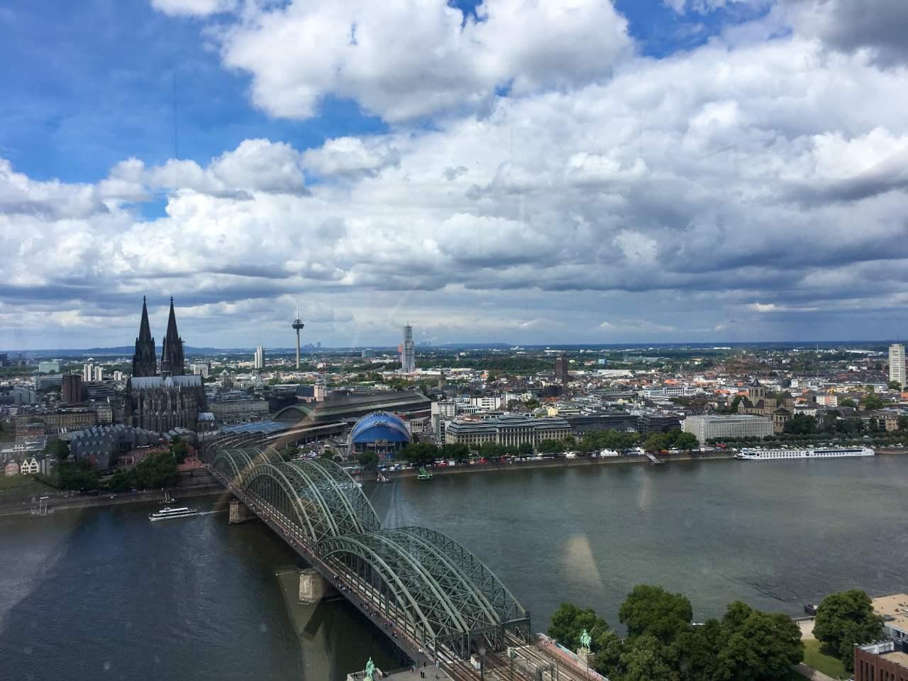 Conheça o Köln Triangle, a melhor vista panorâmica de Colônia