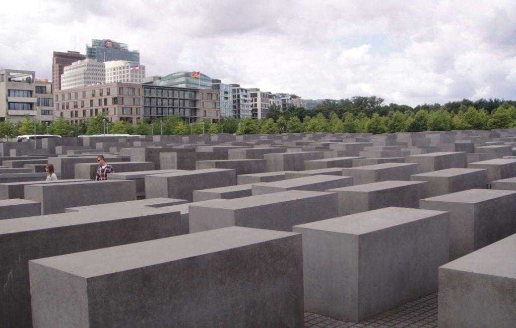 memorial judeus mortos europa no centro de berlim