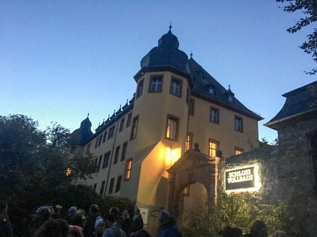 castelo vollrads, na alemanha, que leva o nome da vinícol visitada